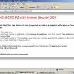PC Cillin 2006 Beta