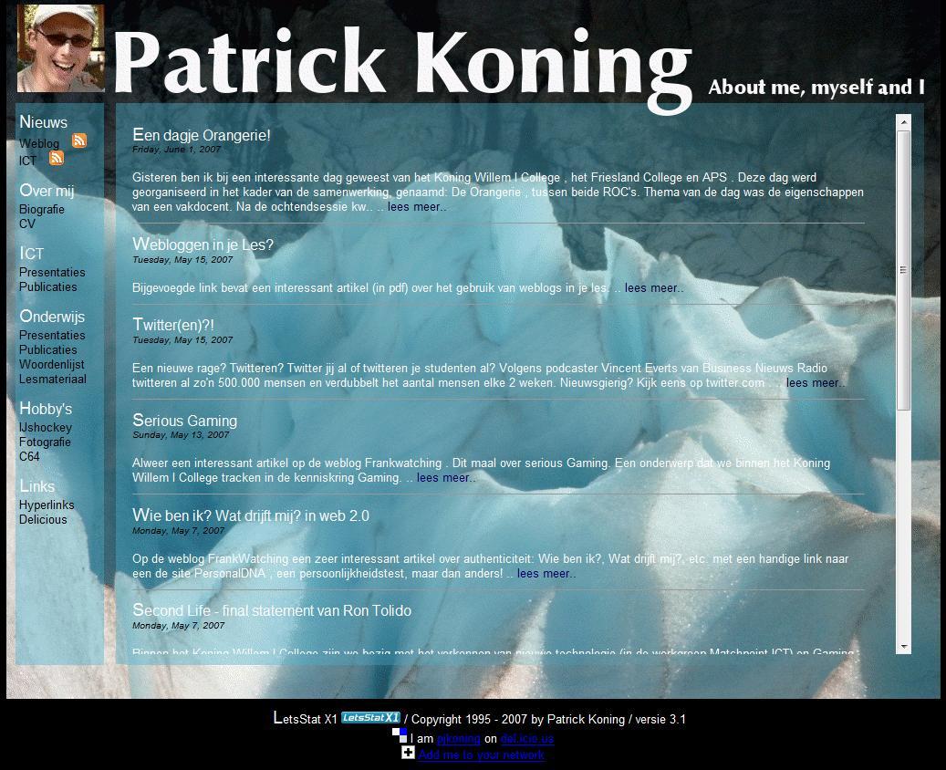 Website Patrick Oud