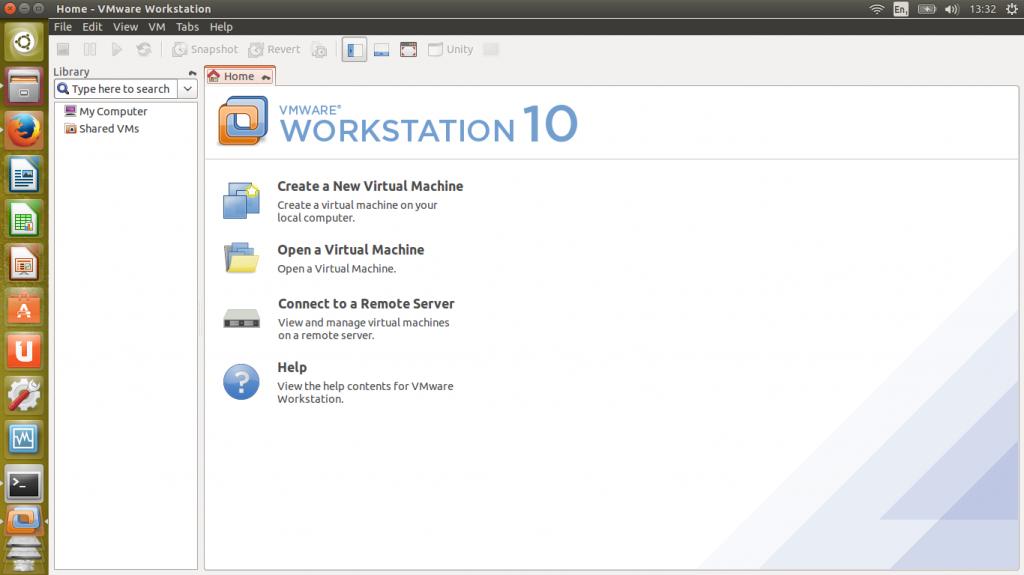 VMware Workstation 10.0.03 onder Ubuntu Linux 14.04