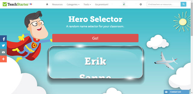 Random Name Selector